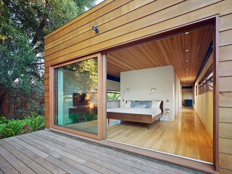 green sustainable residence bedroom