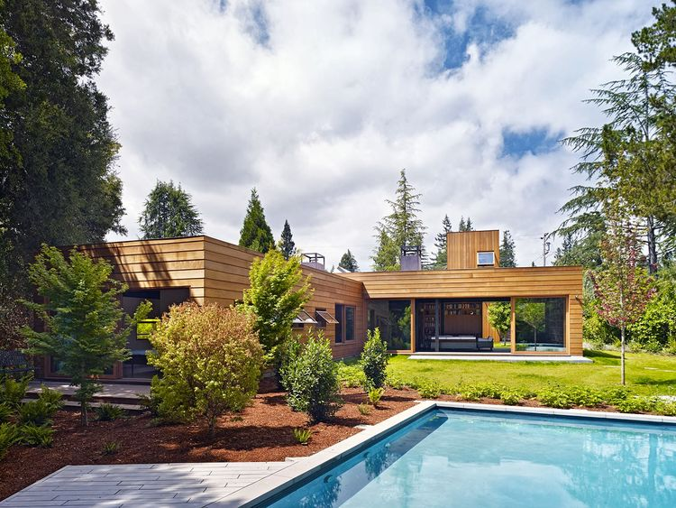 green sustainable residence exterior