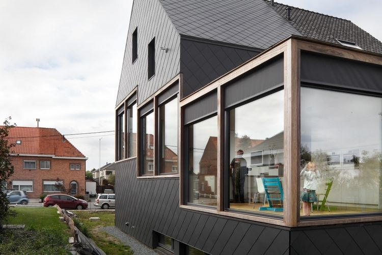 Passive house in Sint-Niklaas, Belgium