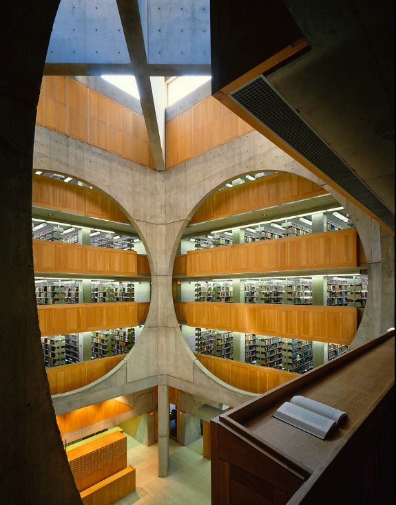 louis kahn exeter library