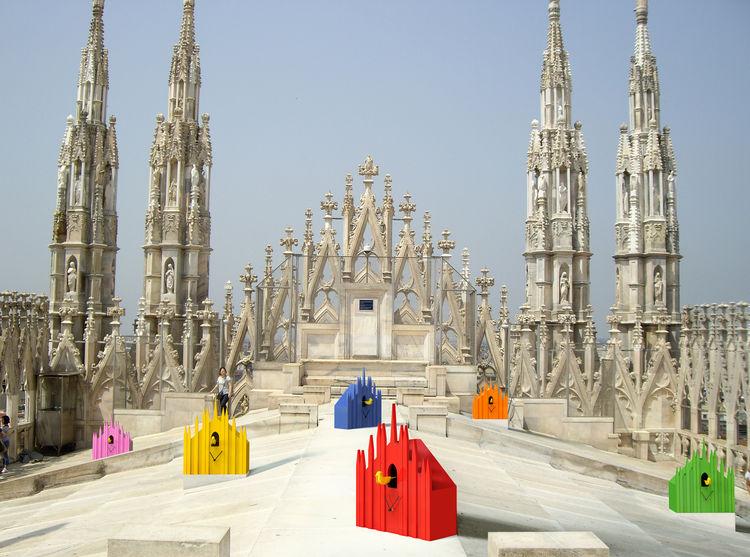 Salone Milan Duomo Cuckoo Clock Diamantini Domeniconi