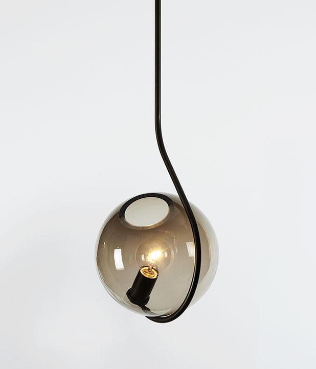 Salone Milan Roll Hill Jason Miller Fiddlehead Lamp
