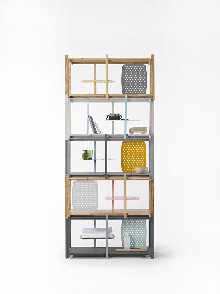 Salone Milan Thinkk Studio Stackle shelf Ventura Lambrate