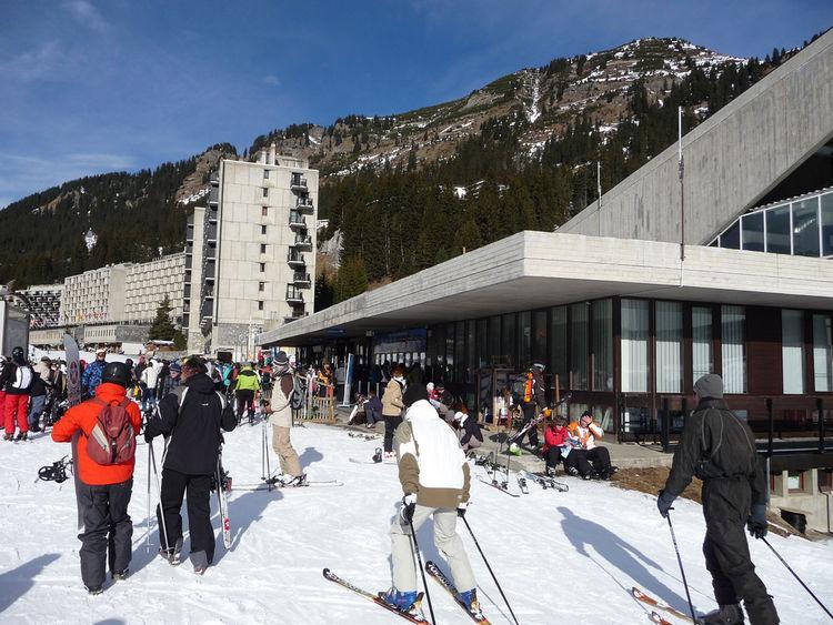 Flaine Ski Resort (Haute-Savoie, France: 1969)
