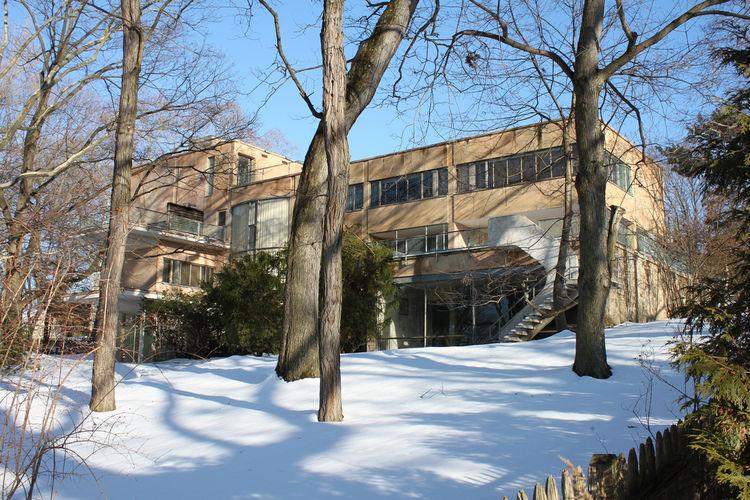 Alan I W Frank House (Pittsburgh, USA: 1940)