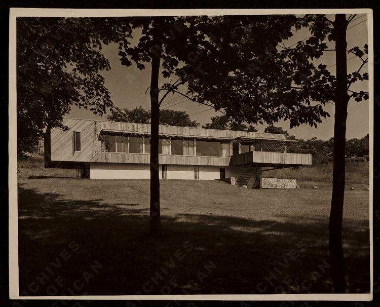 Breuer House I (New Canaan, USA: 1948)