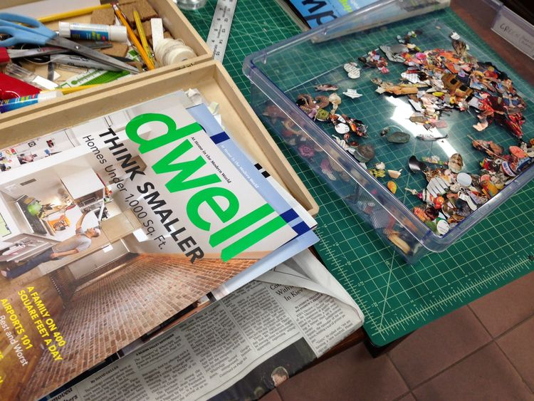 Dustin Yellin Dwell magazines studio