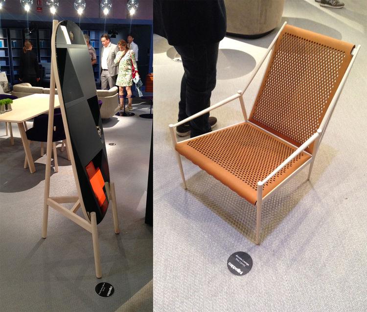 Cappellini Jasper Morrison Max Lipsey Milan design week Salone del Mobile 2014 armchair