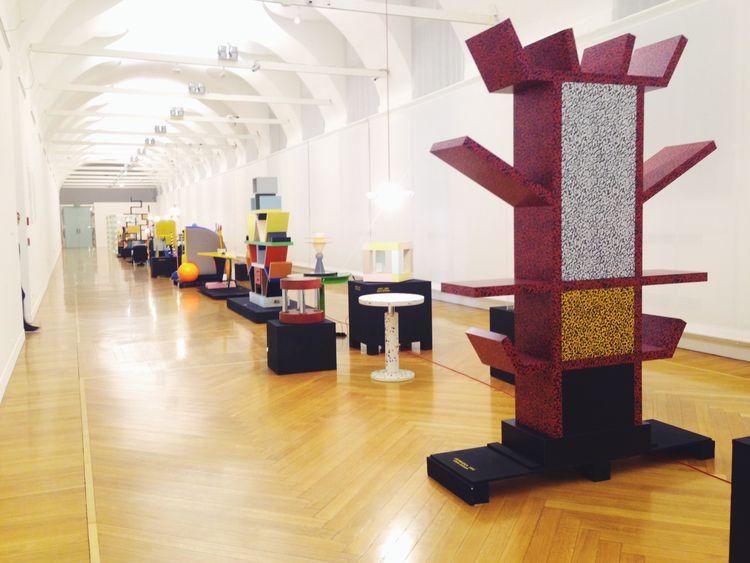 Memphis postmodern Sottsass furniture Milan design week 2014