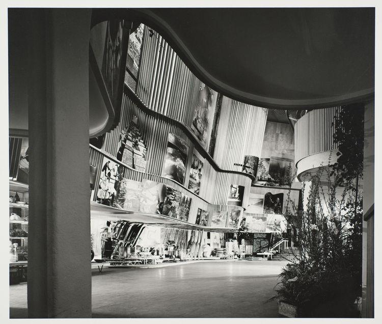 Finnish Pavilion by Alvar Aalto, 1939 New York World's Fair