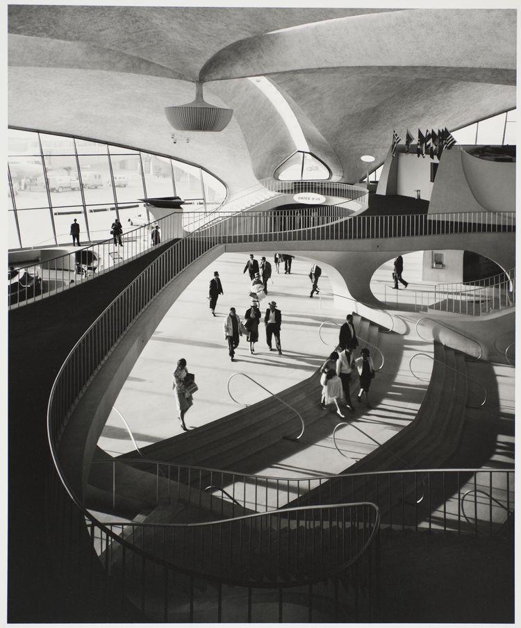 TWA Terminal by Ezra Stoller
