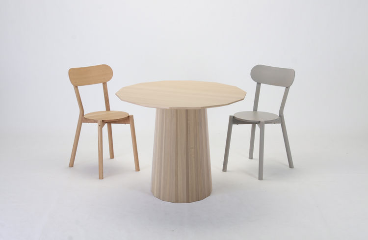 scholten baijings colour wood dining 95 table chairs