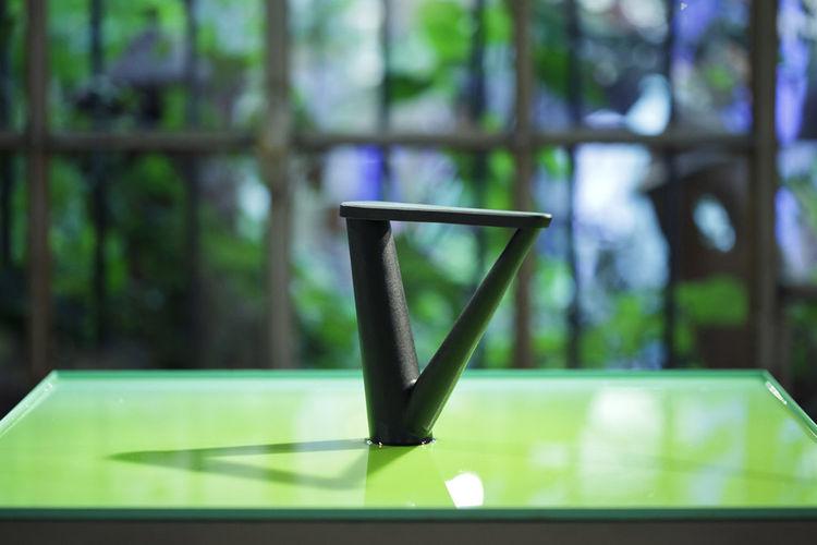 Aldo Bakker for Georg Jensen servingware oil container at Rossana Orlandi during Milan design week 2014