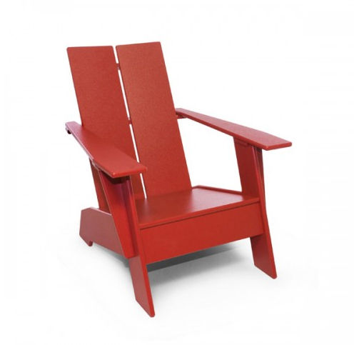 a plastic adirondack chair for children