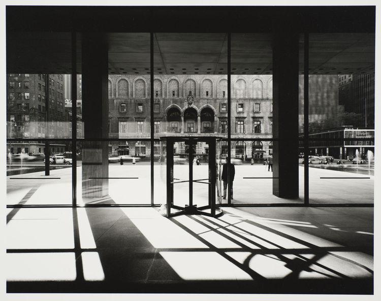 Seagram Building, interior, by Ezra Stoller