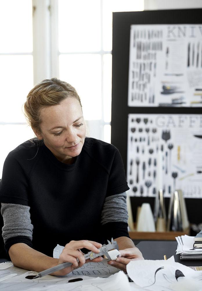 Georg Jensen Louise Campbell designer Copenhagen flatware