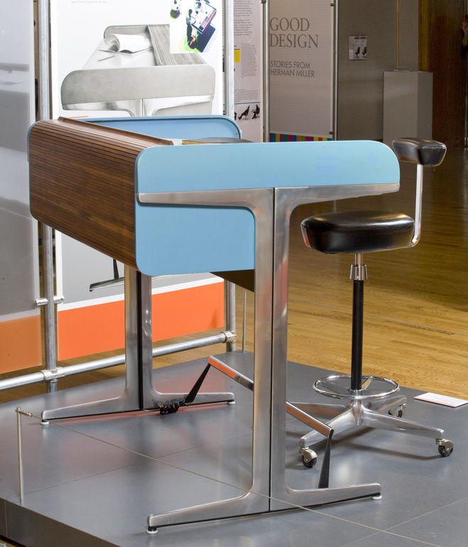 Roll-Top Desk by George Nelson for Herman Miller