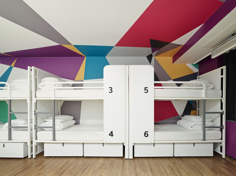 Generator London bunk dorm room hostel
