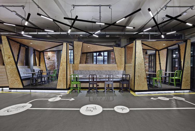 Generator London hostel wood pod emeco