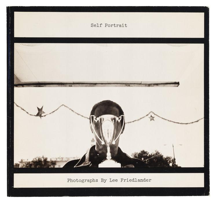 Lee Friedlander self portrait book cover