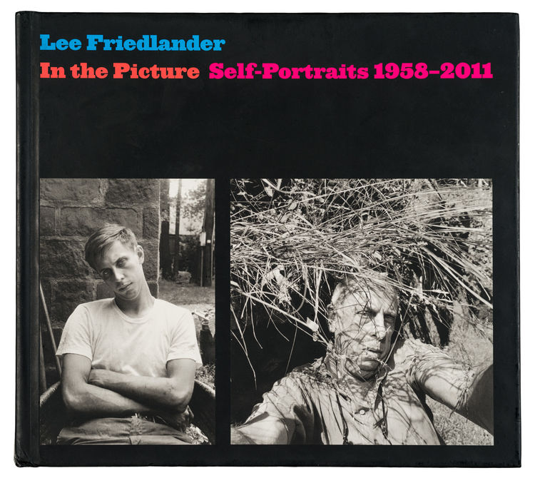 Lee Friedlander in the picture self portraits book cover