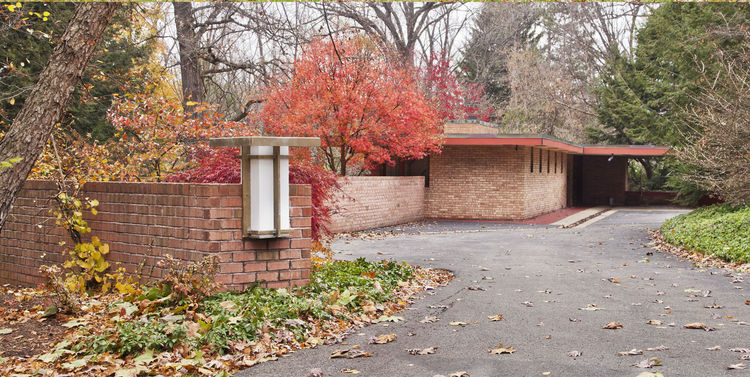 Laurent House, Frank Lloyd Wright, Rockford, Illinois