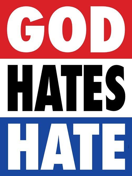 Nick Adam & Bud Rodecker, God Hates Hate