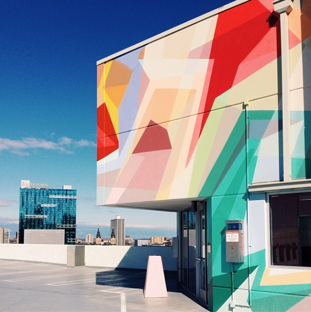 dwell instagram detroit artist mural parking garage zlot
