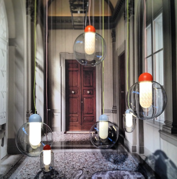 dwell instagram salone milan scholten baijings pendant lights moooi
