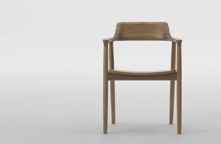 Hiroshima Armchair: Designed by Naoto Fukasawa, manufactured by Maruni