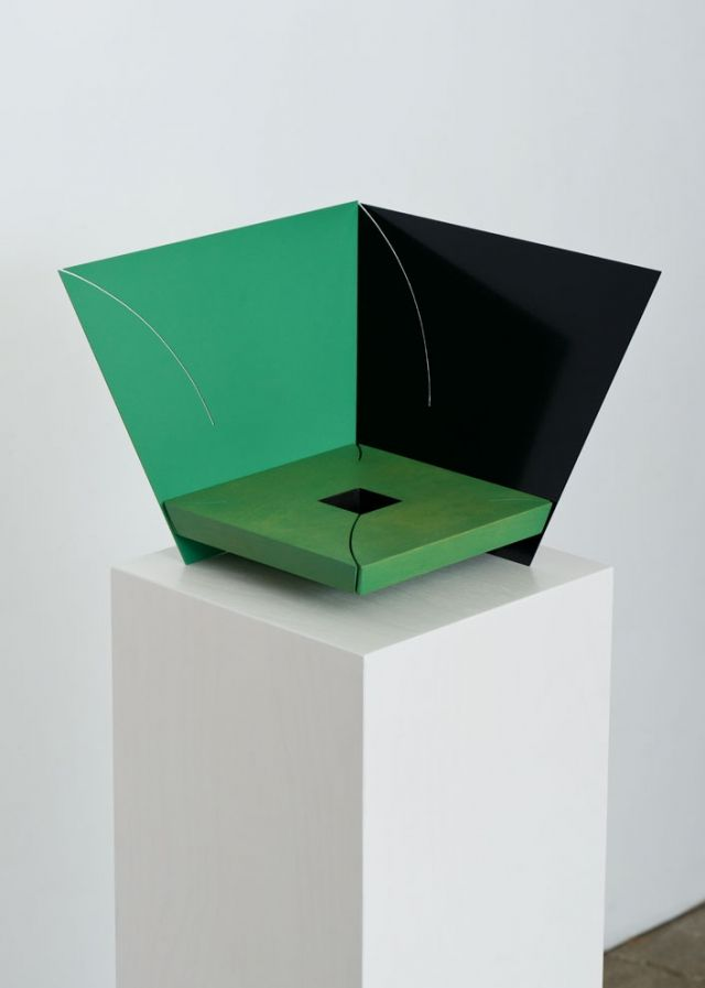 Matt Paweski art sculpture furniture color green