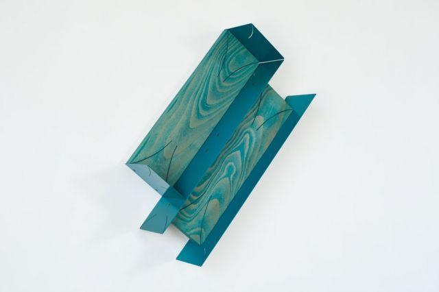 Matt Paweski art sculpture blue design