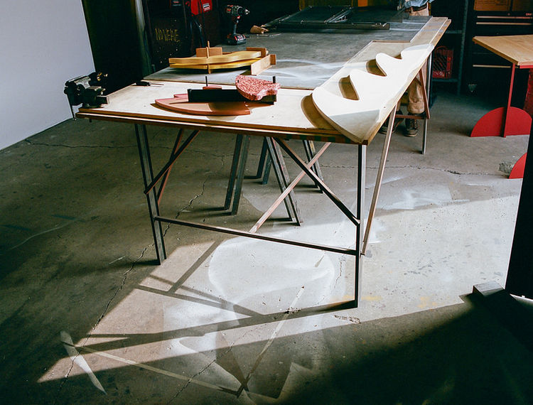 Matt Paweski Los Angeles studio visit art design