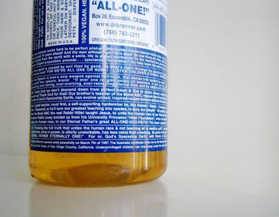 Dr. Bronner's All-in-One Soap
