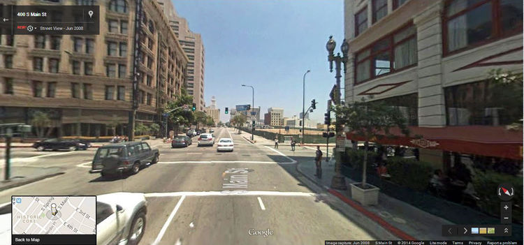 Google Street View LA 2008