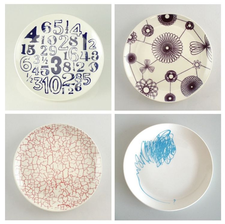 Redesigned Medalta Side Plates by Medalta