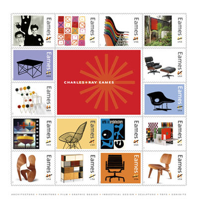 Eames Postage Stamps