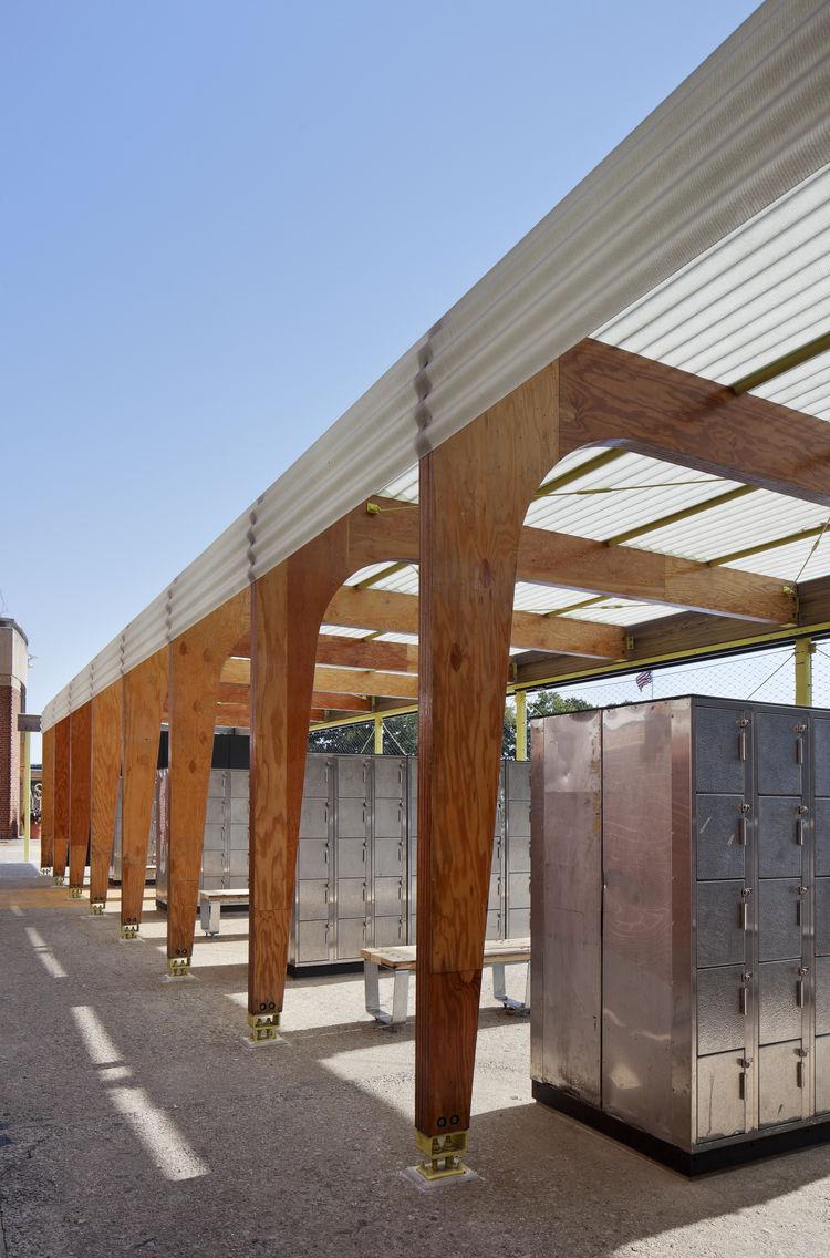parsons highbridge overhang lockers outdoor
