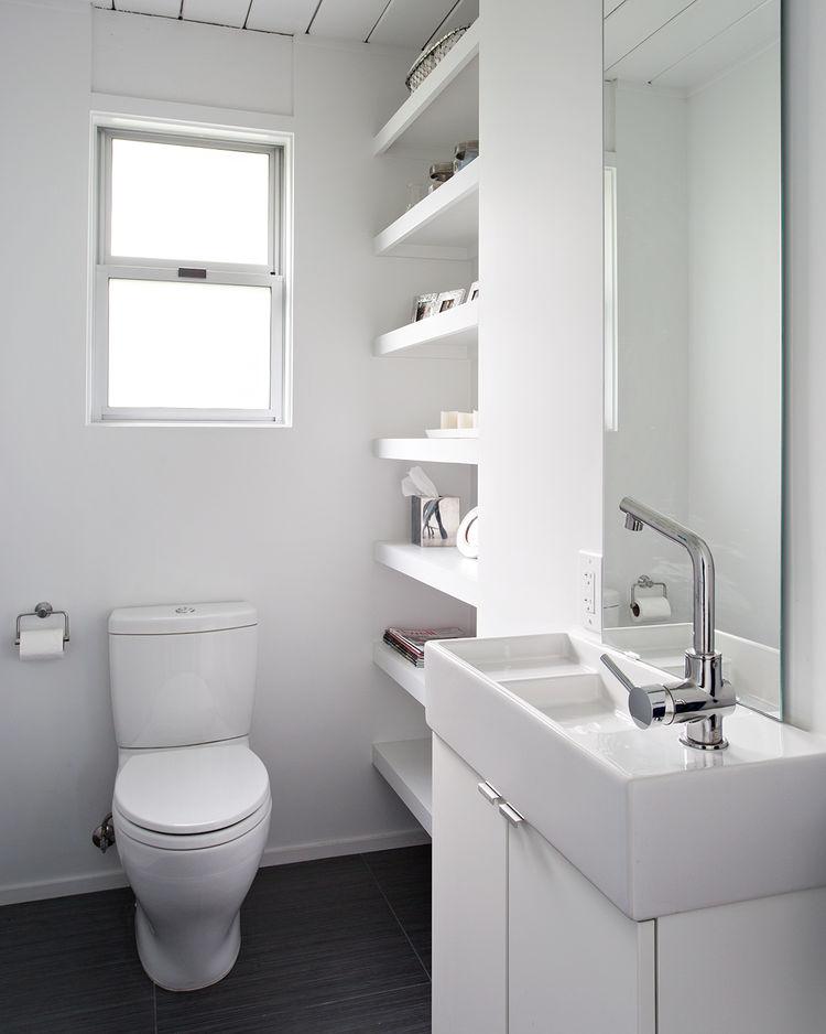 burlingame eichler all white bathroom