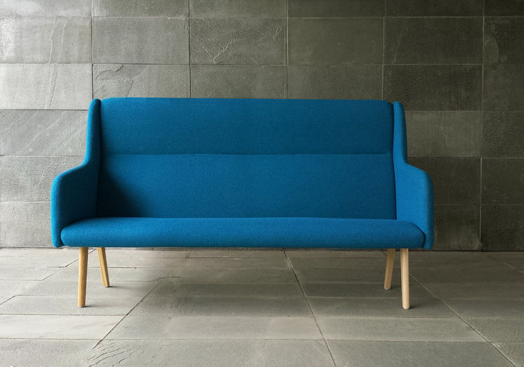 Designjunction IntroNY 2014 with design brands Muuto and blue sofa from MASSPRODUCTIONS