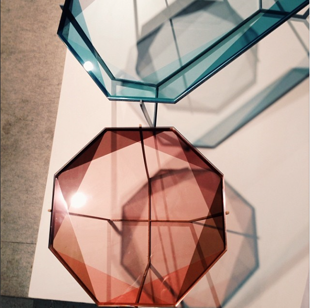 gem tables by debra folz at wanted design