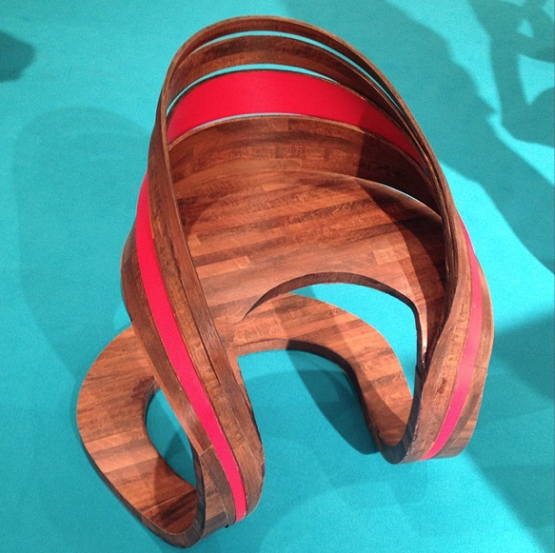 student chair competition at icff