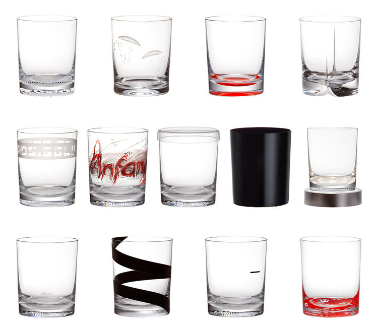glass drinking set by adolf loos