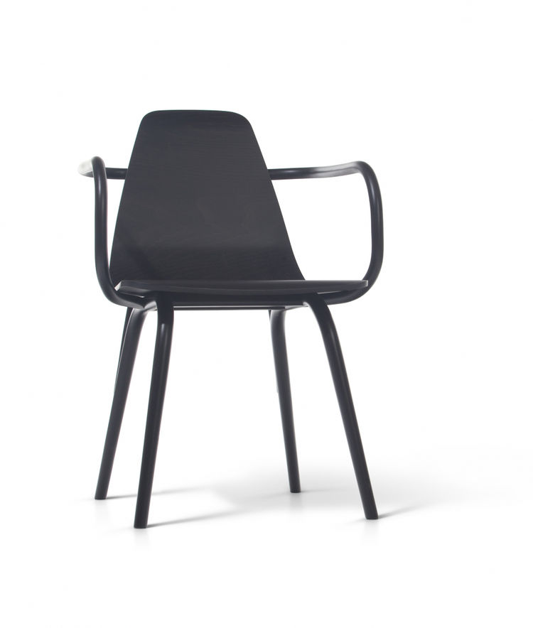 black bentwood cafe chair