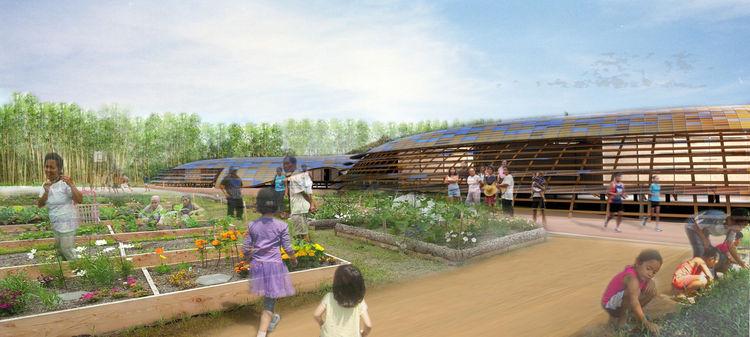 mat-ter school concept garden