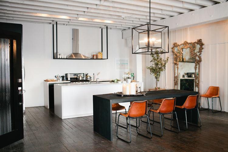 minimal los angeles kitchen