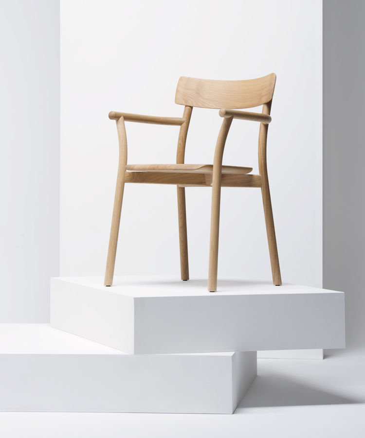 Chiaro oak chair by Leon Ransmeier for Mattiazzi