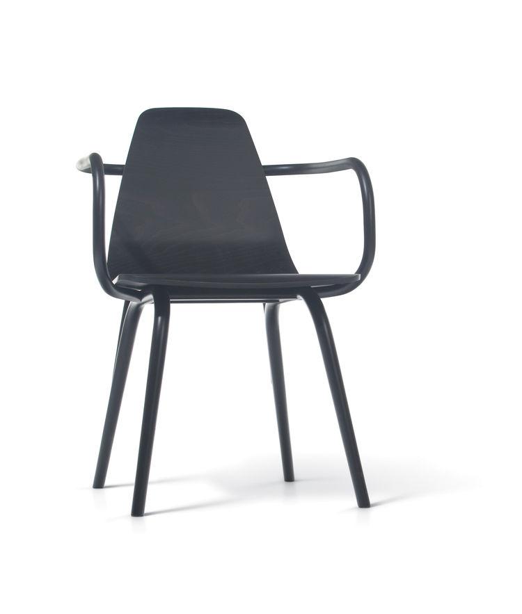 Thomas Feichtner black wooden chair
