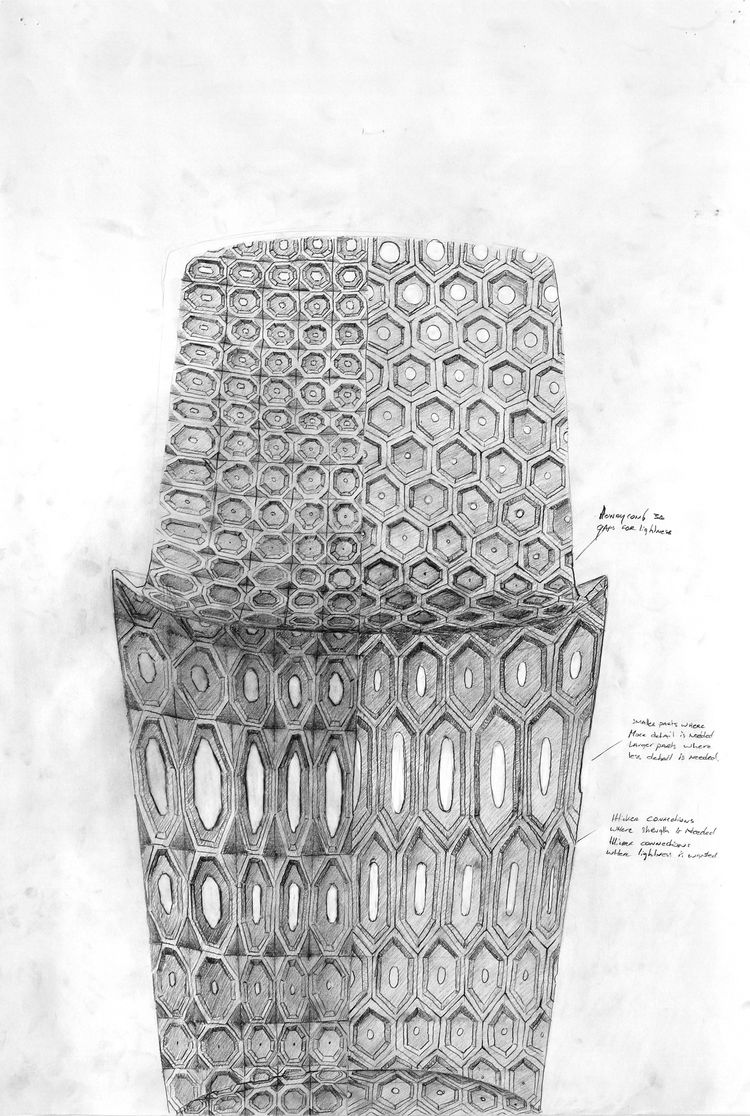 joris laarman maker chair sketch