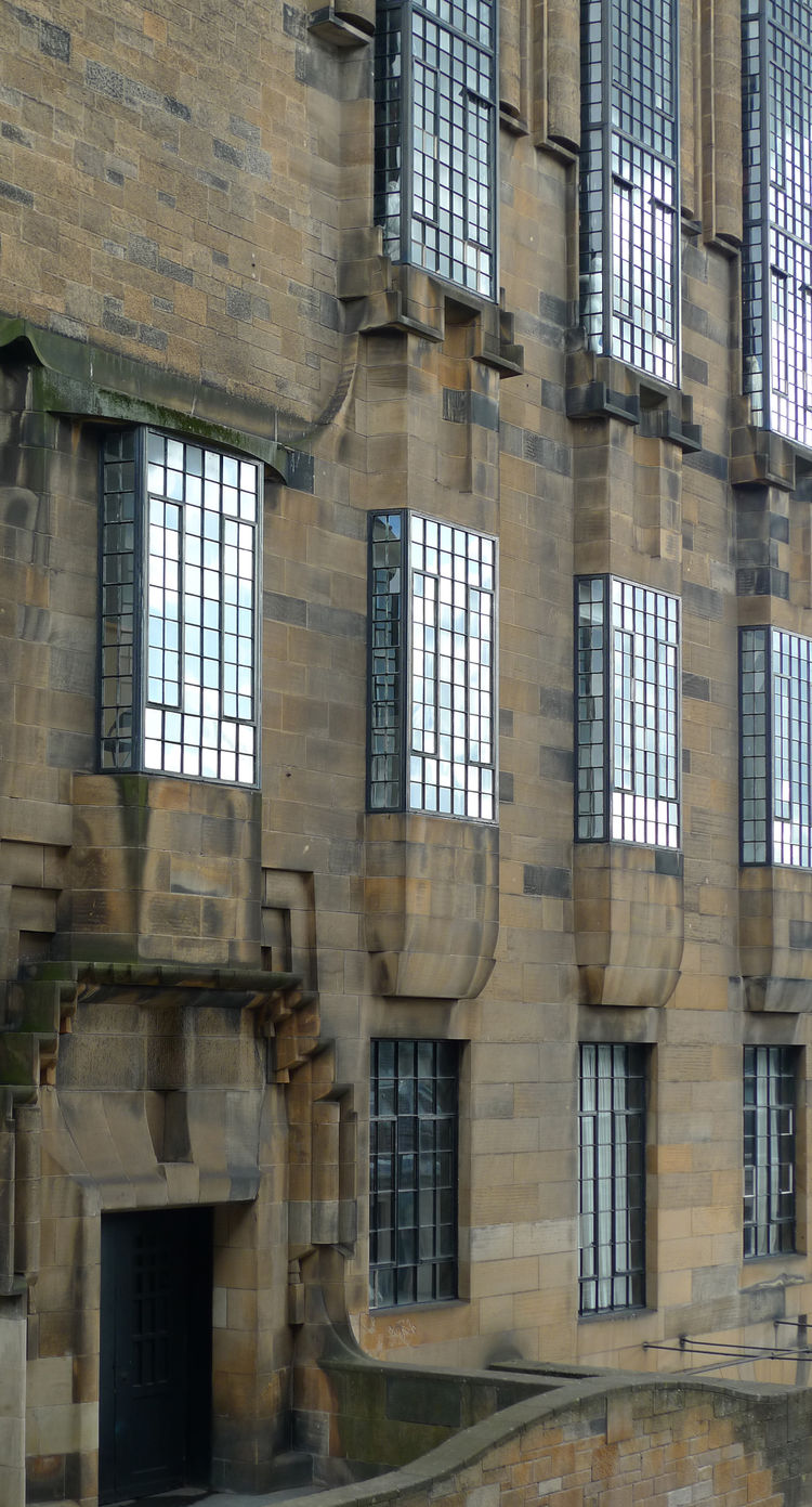 glasgow school of art facade